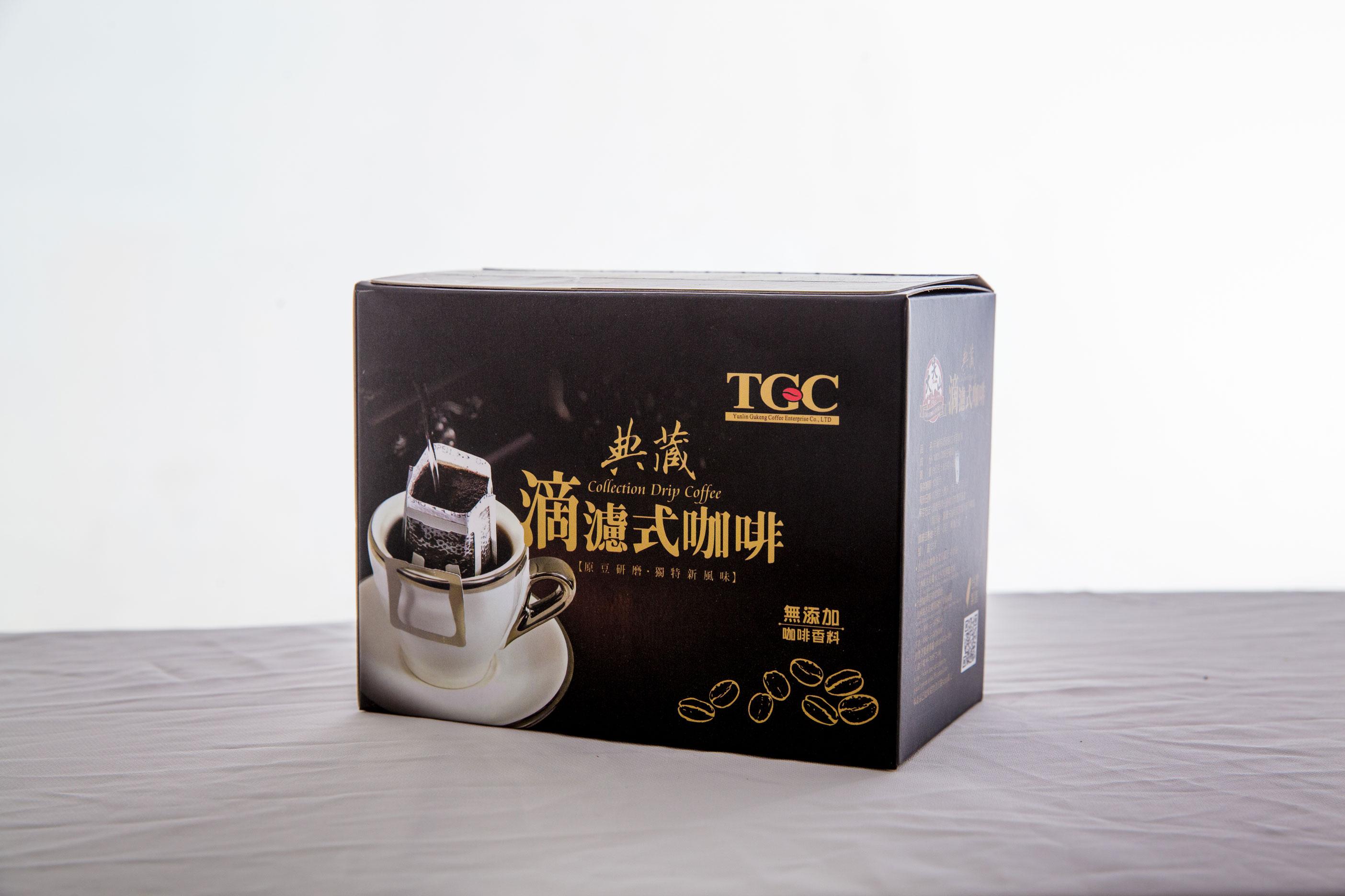 [古坑咖啡~TGC]典藏-綜合特調滴濾式咖啡6包