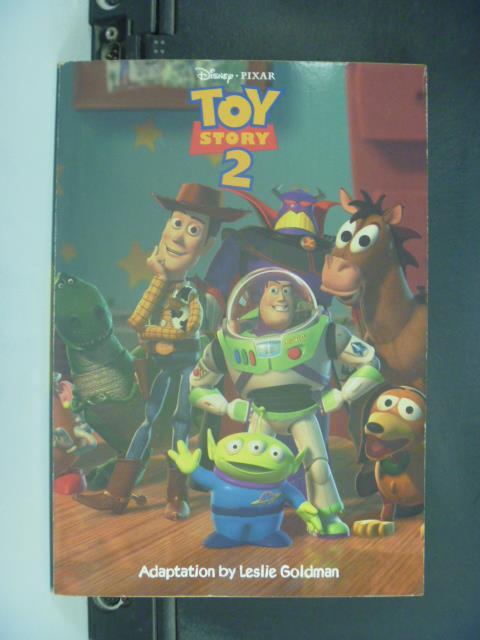 【書寶二手書T1/原文小說_IBB】Toy Story 2_Leslie Goldman