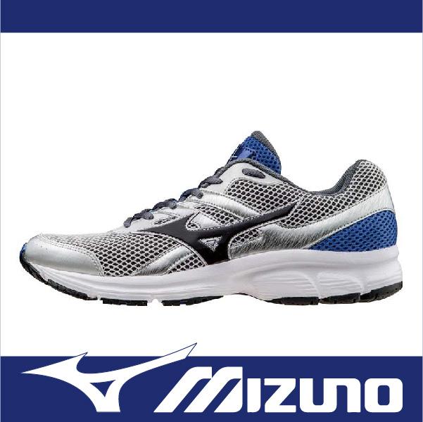 萬特戶外運動-MIZUNO美津濃 K1GA160313 MIZUNO SPARK 休閒 健走 男款慢跑鞋 銀/黑/藍