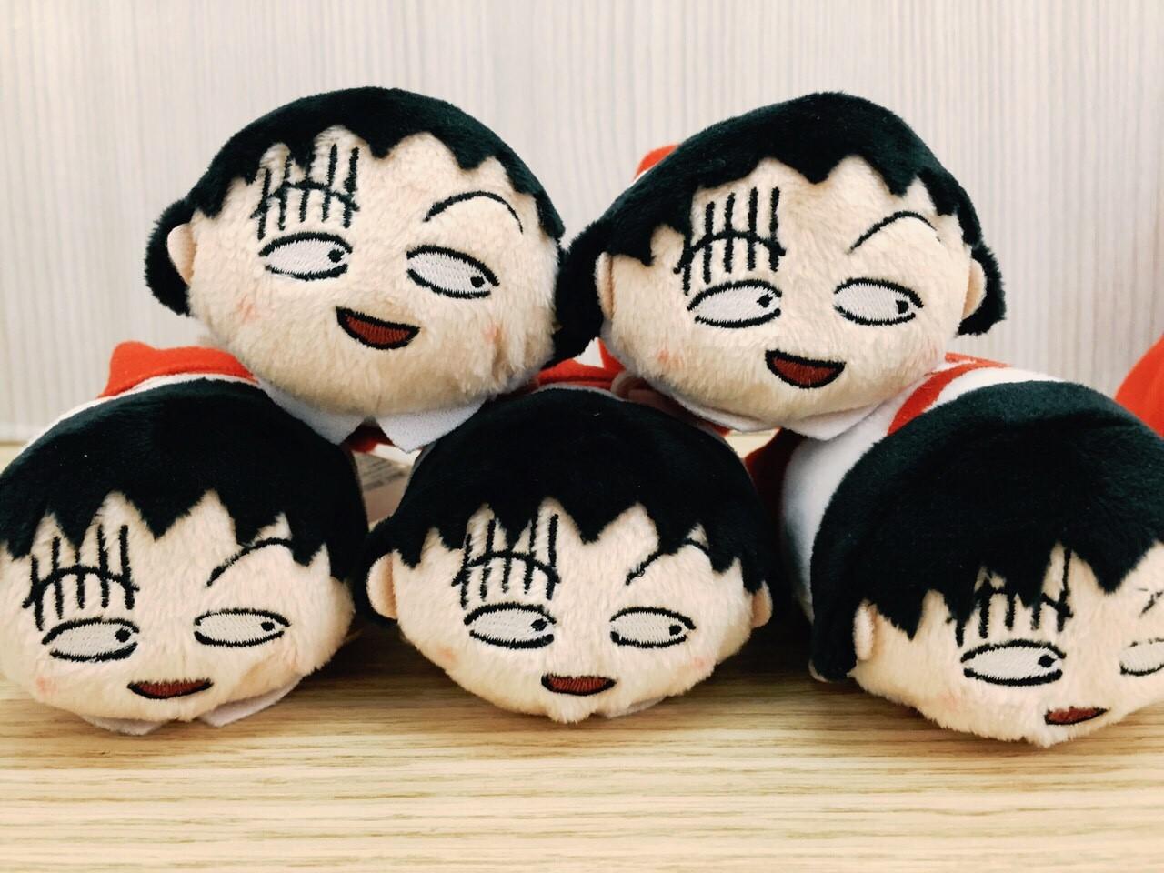 【真愛日本】15122400002 放送25th紀念tsum手玉-著急小丸子 櫻桃小丸子 娃娃 擺飾 螢幕擦 公仔