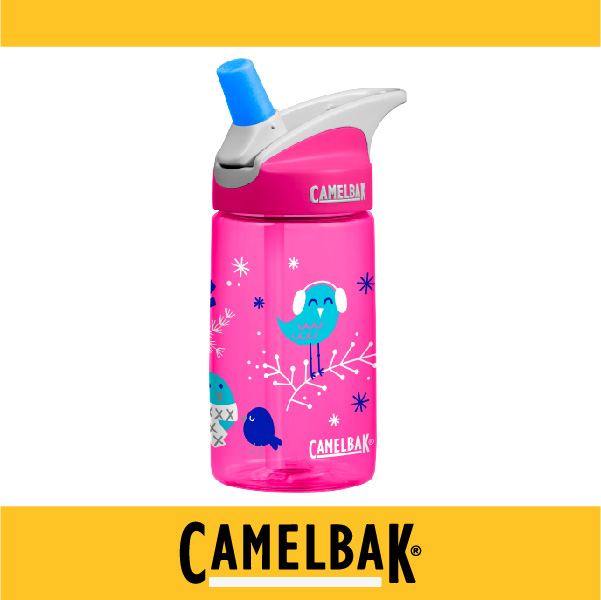 萬特戶外運動-CamelBak 美國補水專家 2016新品 400ml兒童吸管運動水瓶 CB54173 不溢漏 專治不愛喝水的小孩 (歡樂小鳥)