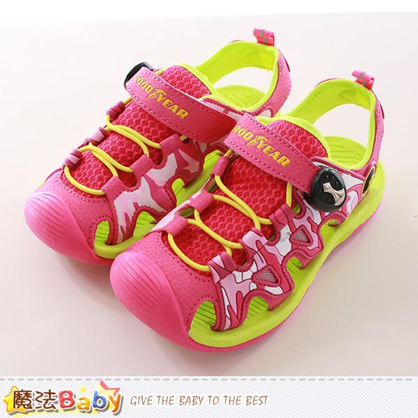 女童運動鞋 水陸兩用護趾運動鞋 魔法Baby~sa68612