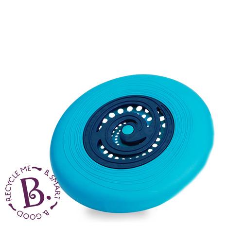 【奇買親子購物網】美國 B.Toys 飛盤迪斯可(藍/橘)