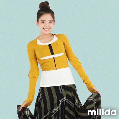 【Milida,全店七折免運】-單品特輯-外套款-拉鍊造型外套
