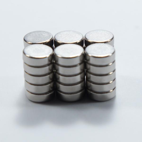 強力磁鐵釹鐵硼 圓直徑 0.6公分*厚 0.2公分 30個-Mark Honor