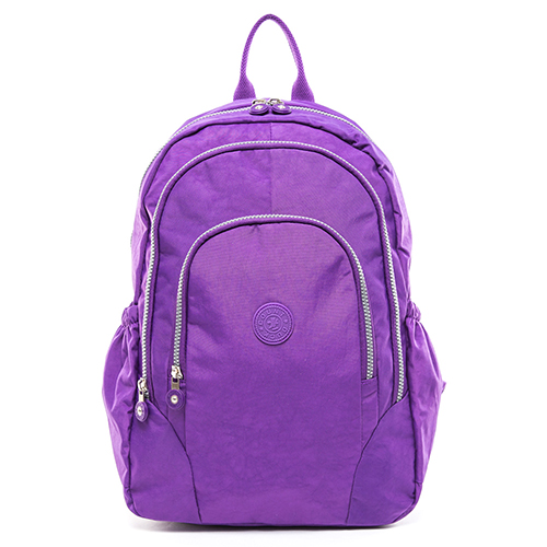 【COUNT DUCK】美系悠活輕量多收納機能型3way後背包-CD-009-紫色
