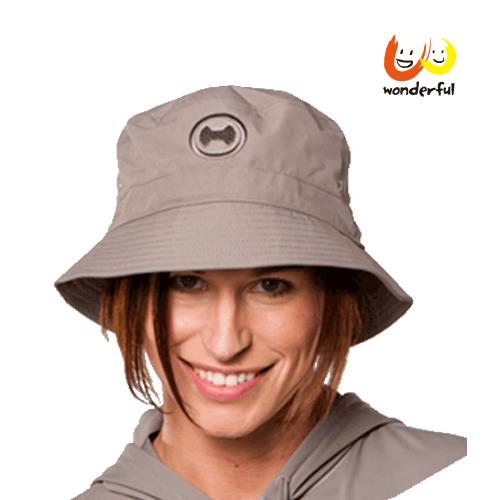 hyphen 防曬UPF80 T型帽摩卡色