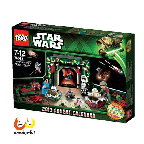 LEGO 2013樂高降臨曆星際大戰
