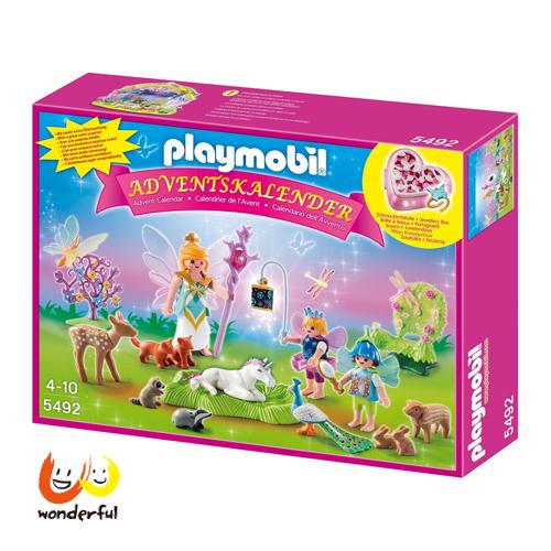 Playmobil 獨角獸花仙降臨曆
