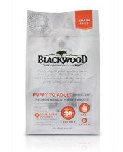 WDJ推薦 Blackwood 柏萊富 無穀全齡 低敏挑嘴配方(鮭魚+豌豆) 15LB/15磅