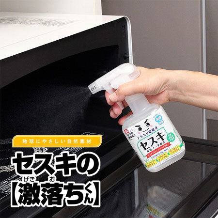 日本 激落君 倍半碳酸鈉電解水噴霧 320ml 噴霧劑  可擦拭風扇冰箱電器等【B062519】
