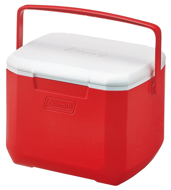 【鄉野情戶外專業】 Coleman |美國| 15L Excursion 手提冰箱/冰桶 保鮮桶 保冰箱-紅/CM-27860M000