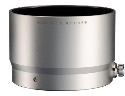 【普羅相機】OLYMPUS LH-61F 金屬鏡頭遮光罩 (銀色) (需預訂)