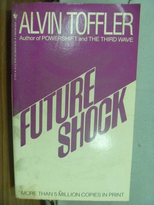 【書寶二手書T9/社會_ICX】Future Shock_Alvin Toffler