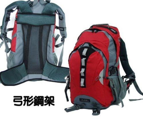 【加賀皮件】 EYE 多功能大容量弓形透氣後背包/登山包 40L 附雨罩 【EYE250】