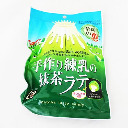 [敵富朗超市]甘信堂煉乳抹茶拿鐵糖(賞味期限至2016.12.31)