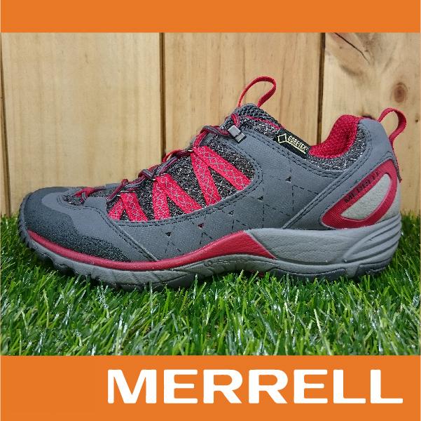 【整點特賣】MERRELL GORE-TEX防水女款低筒登山健行鞋 AVIAN LIGHT 黃金大底