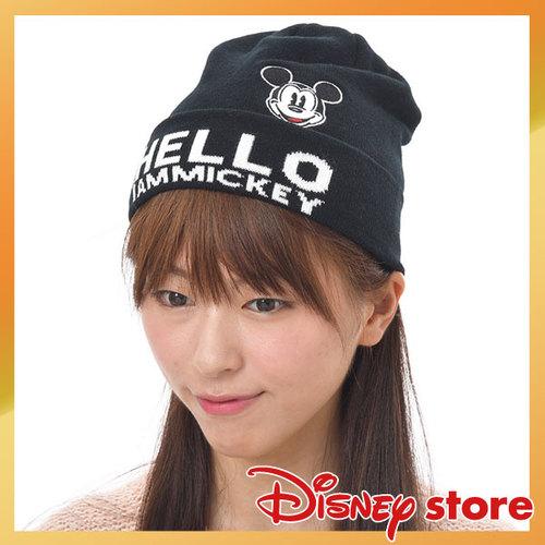 【真愛日本】FASHION-NY STREET 針織毛帽-米奇   迪士尼 米老鼠米奇 米妮  帽子  保暖  毛帽