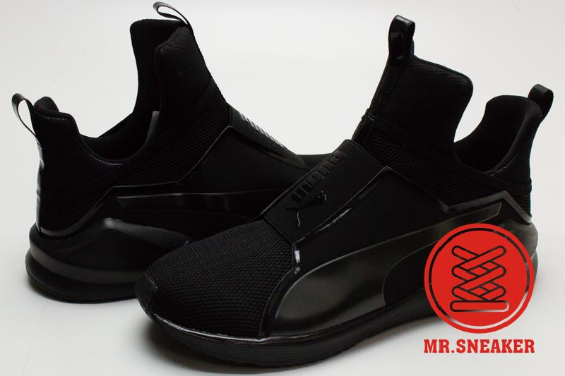 ☆Mr.Sneaker☆ Puma Fierce Core Rihanna RiRi 蕾哈娜 Kylie Jenner 無鞋帶 室內訓練鞋 女款 黑色