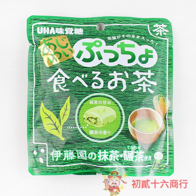 【0216零食會社】UHA味覺糖_抹茶軟糖62g