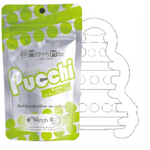 [漫朵拉情趣用品]MEN'S MAX Pucchi バラエティAセット「Combo(コンボ)」 DM-9073722