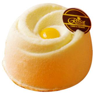 【羅撒法式西點】百香芒果檸檬慕斯蛋糕~「白色戀人」