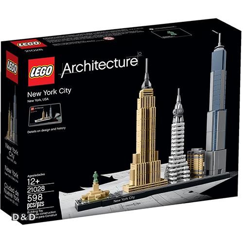 樂高積木 LEGO《 LT21028 》 ARCHITECTURE 世界建築系列 - New York City 紐約市