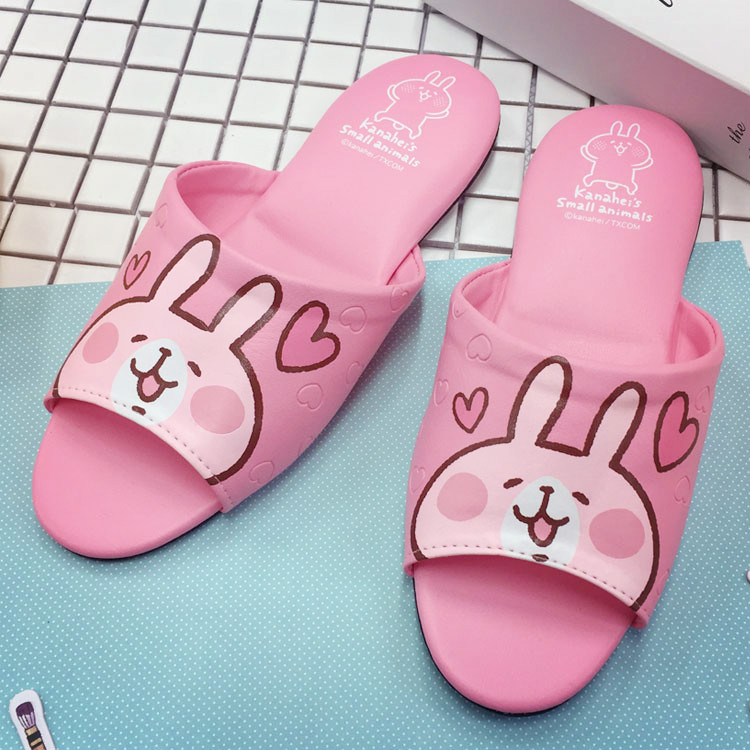 PGS7 (現貨+預購) 日本卡通系列商品 - Kanahei 卡娜赫拉 造型 室內拖 室內 拖鞋 兔兔 P助