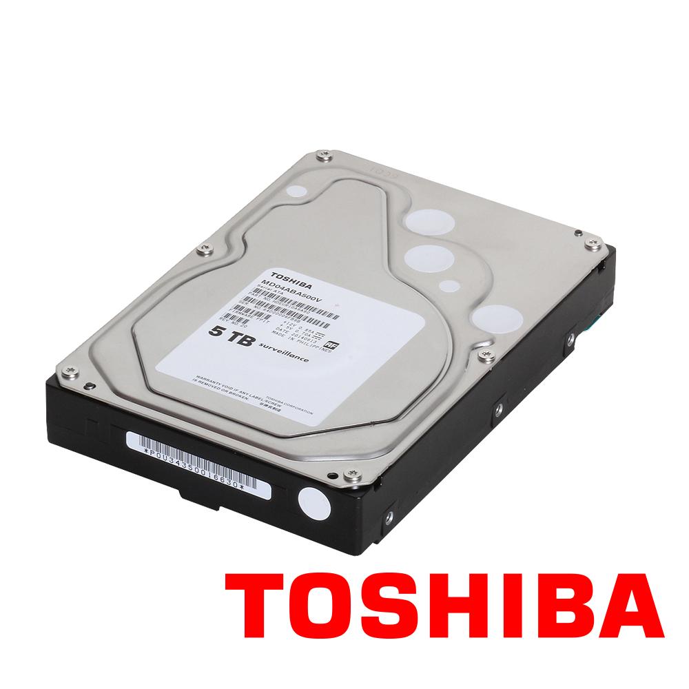 TOSHIBA 東芝 5TB 3.5吋 5400轉 SATA3 影音監控硬碟 三年保(MD04ABA500V)