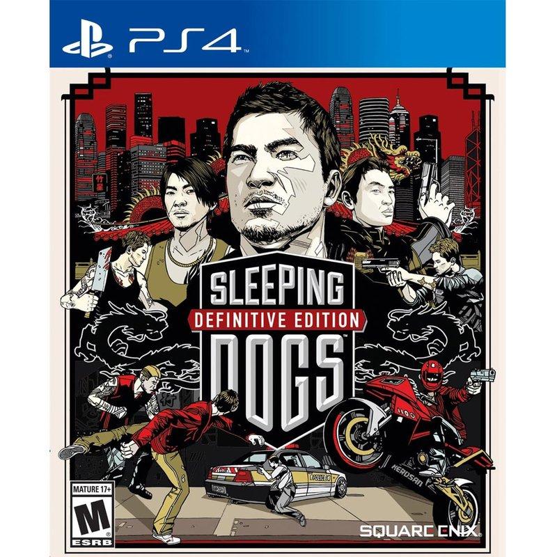 PS4 睡犬 決定版 英文美版 Sleeping Dogs 香港秘密警察