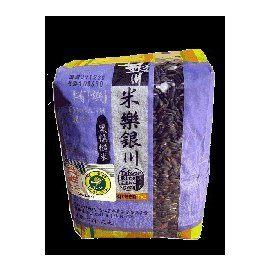 銀川 有機黑糯糙米 600g