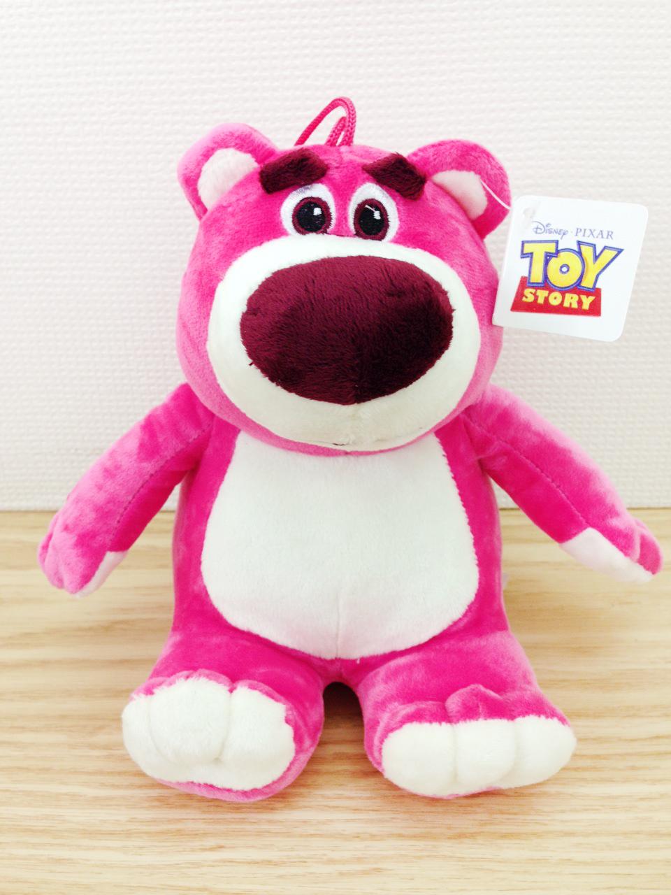 【真愛日本】15102600013 6吋吊娃-熊抱哥坐姿 玩具總動員 熊抱哥 娃娃 吊娃 擺飾