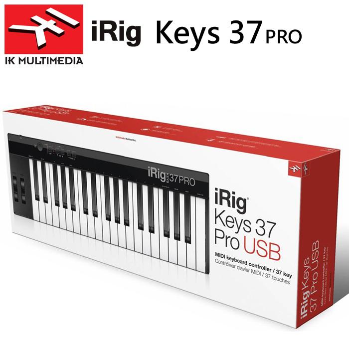 【非凡樂器】IK Multimedia iRig Keys 37 PRO USB PC/MAC MIDI主控音樂鍵盤/迷你鍵/電腦用專業版