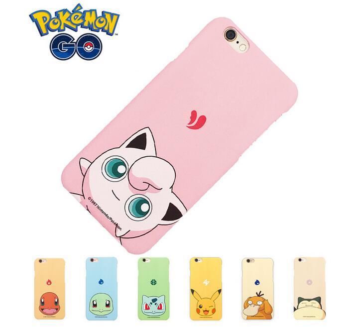 新款口袋妖怪iphone7手機殼皮卡丘蘋果6s保護套iPhone7 plus日本原創磨砂手機殼