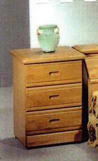 【尚品家具】659-01 正赤楊實木床頭櫃床邊櫃~台灣製造