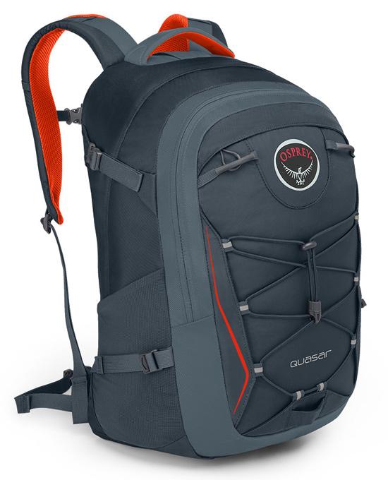 【鄉野情戶外用品店】 Osprey |美國|  QUASAR 28 電腦背包《男款》/15吋筆電背包 城市背包 旅行背包 -盔甲灰/Quasar28 【容量28L】