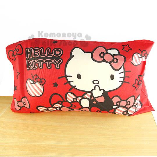 下殺↘299〔小禮堂〕Hello Kitty 枕頭套~2入.紅~貼心小物系列