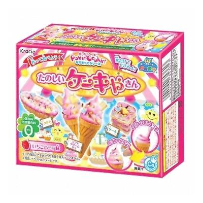 有樂町進口食品 kracie 蛋糕屋先生知育菓子~香草 草莓~diy~冰淇淋知育果子 26g~4901551353613