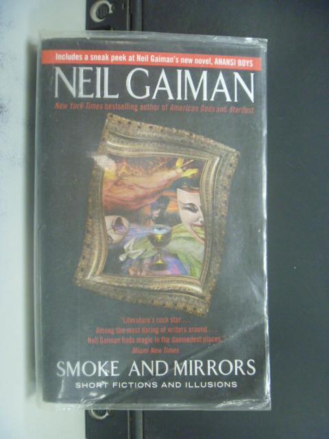 【書寶二手書T9/原文小說_KPK】Smoke And Mirrors_Gaiman