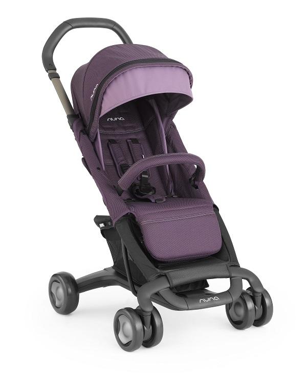 NUNA - Pepp Luxx時尚推車 (紫) 贈品牌手提袋+可愛玩偶吊飾+涼感小坐墊,加費雪聲光安撫長頸鹿!
