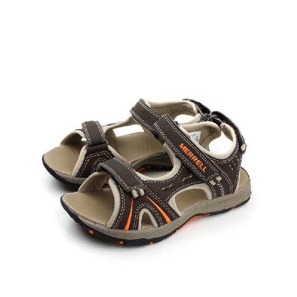 MERRELL 涼鞋 棕 中童 no044