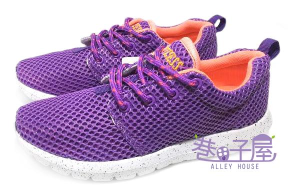 【巷子屋】Limitless利米堤司 女款大網透氣超輕量慢跑鞋 [1365] 紫 超值價$298