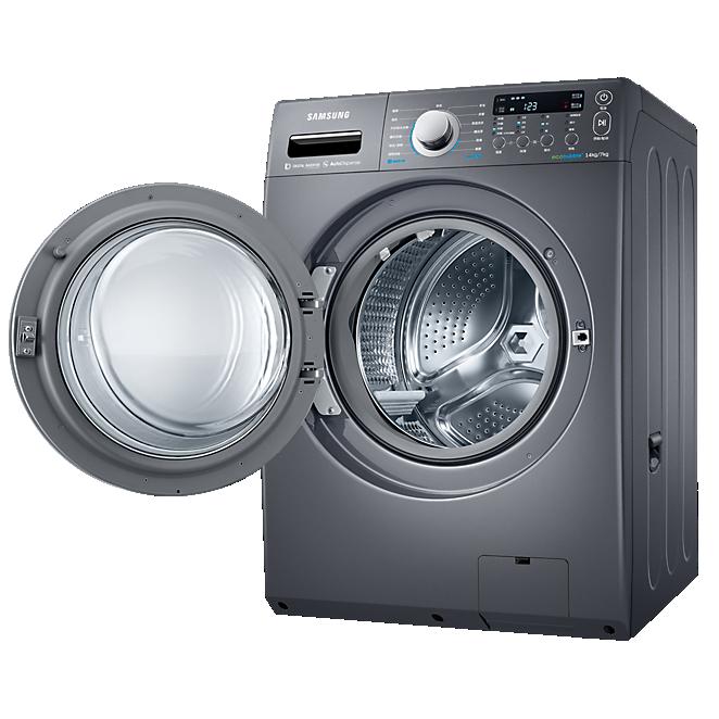 【金雞報喜】Samsung 三星 WD14F5K5ASG/TW 14KG 滾筒式洗衣機 雙效威力淨系列 (靛藍黑)