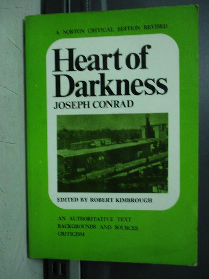 【書寶二手書T8/原文小說_LPA】Heart of darkness_Joseph conrad