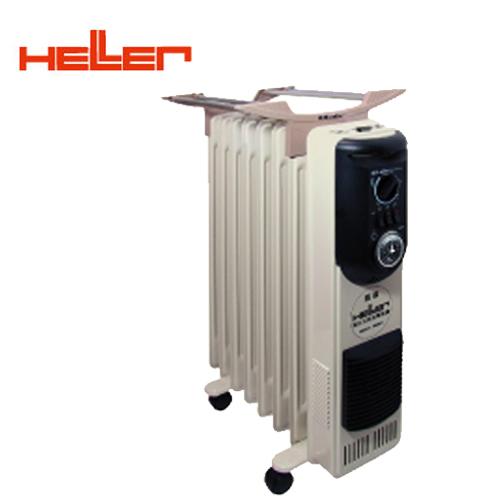 德國HELLER嘉儀8葉片定時電暖器KE-208TF(快速到貨) 買就送雙層不銹鋼保溫飯盒