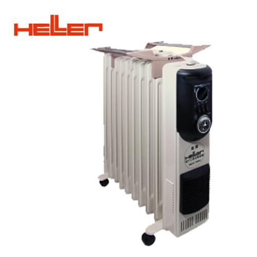 德國HELLER嘉儀10葉片定時電暖器KE-210TF(快速到貨) 買就送雙層不銹鋼保溫飯盒