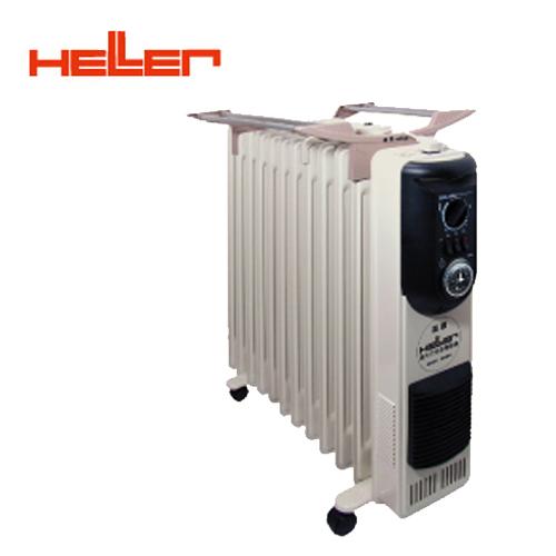 德國HELLER嘉儀 KE-212TF 12葉片定時電暖器