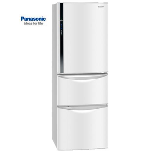 【感恩有禮賞】Panasonic 國際 NR-C387HV-W 變頻三門冰箱 送果汁機