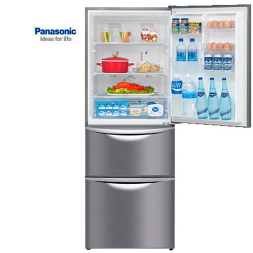 【感恩有禮賞】Panasonic 國際 NR-C477HV-K 變頻三門冰箱 極致黑