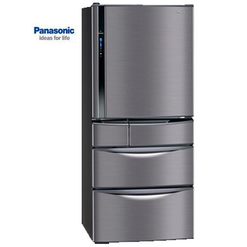 【感恩有禮賞】Panasonic 國際 冰箱 NR-E567MV-K  變頻五門560L 極致黑